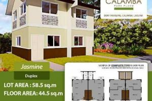 Jasmine Model (Duplex, bare) at Calamba Park Place