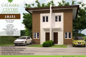 Amara house model (duplex) at Calamba Centris